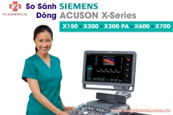 so sanh may sieu am siemens acuson x700 x600 x300 va x150