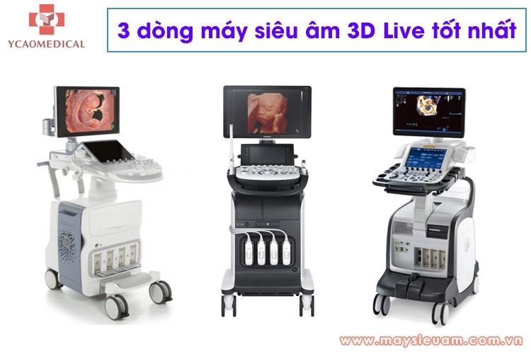 3 dong may sieu am 3d live truc tiep tot nhat hien nay