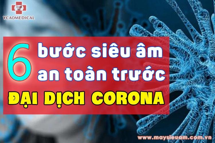 6 buoc sieu am an toan de phong chong virus corona  ncov